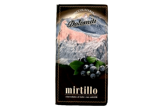 Cioccolata al mirtillo